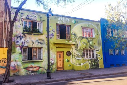 visiter Santiago du chili Barrio Recoleta