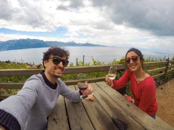 Visite des vignes week-end en Suisse Romande