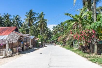 Ruelle General Luna - île de Siargao aux philippines