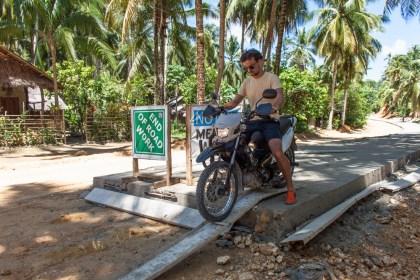 Moto - île de Siargao Voyage Philippines