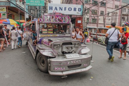 Manille Chinatown Jeepney