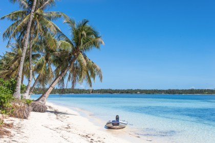 Plage - île de Siargao aux philippines