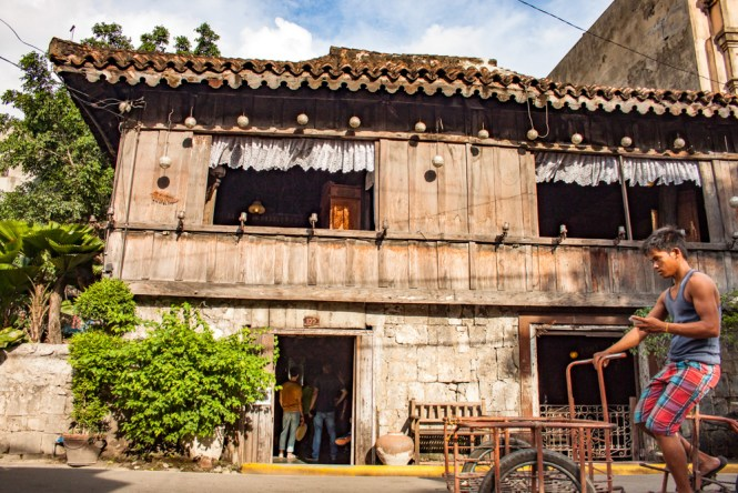 Cebu aux philippines centre Yap Sandiego Ancestral House