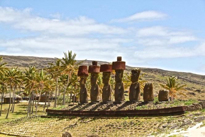 Anakena visiter l'île de pâques