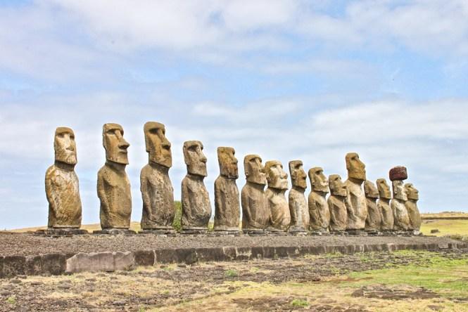 Ahu Tongariki visiter l'île de pâques
