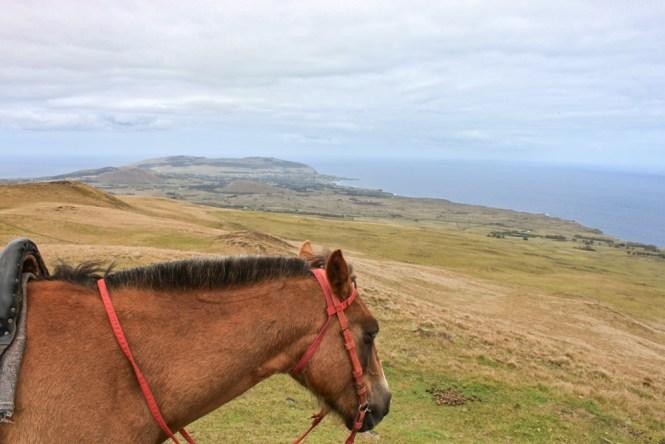 Volcan Poike visiter l'île de pâques
