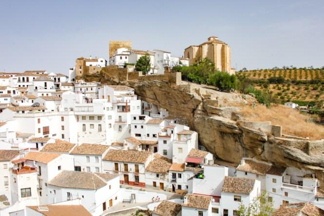 Setenil de las Bodegas Villages Blancs Andalousie