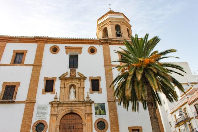 Parc de Alameda del Taj et église visiter Ronda en andalousie