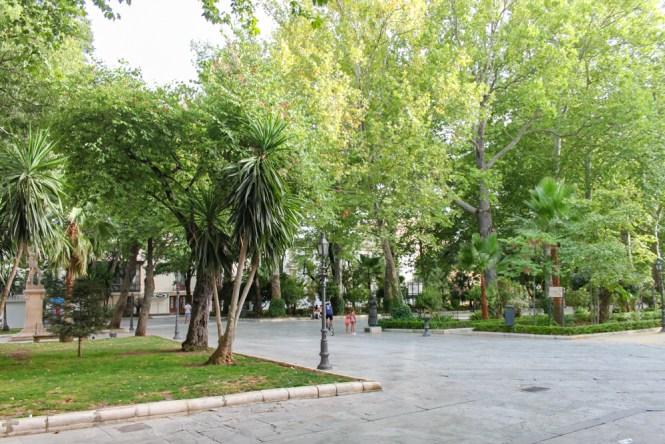 Ronda Parc de Alameda del Taj visiter Ronda en andalousie