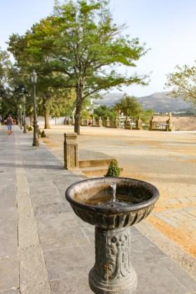 visiter Ronda en andalousie eau