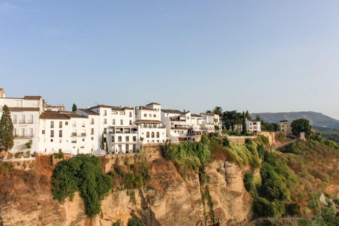 visiter Ronda en andalousie centre ville