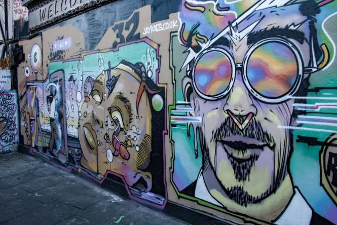 retro Camden Street Art Un week end a Londres