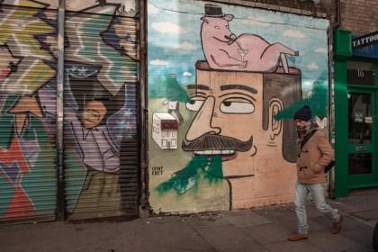 alex Brick Lane Street Art Un week end a Londres
