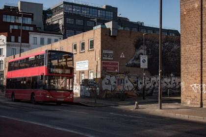 bus dans Shoreditch Un week end a Londres