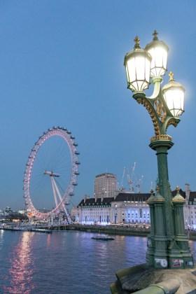 London eye London bridge Un week end a Londres
