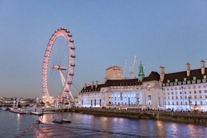 London eye Horse Guard Un week end a Londres