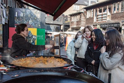nourriture espagnole Camden Market Un week end a Londres