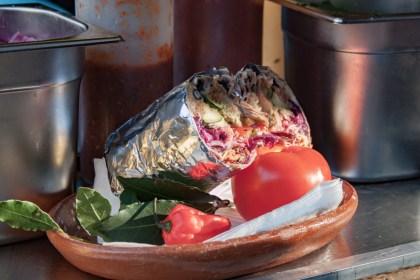 burritos Camden Market Un week end a Londres