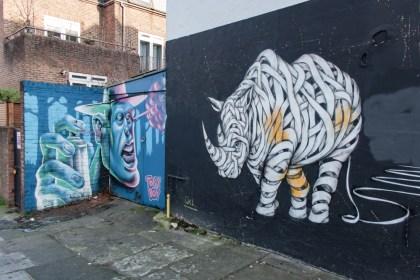 éléphant Camden Street Art Un week end a Londres
