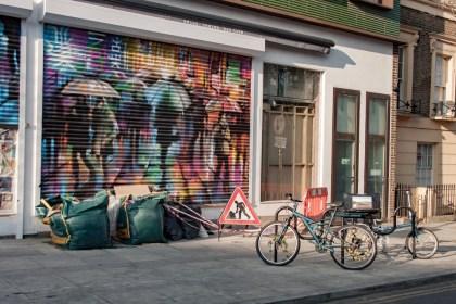 vélo Camden Street Art Un week end a Londres