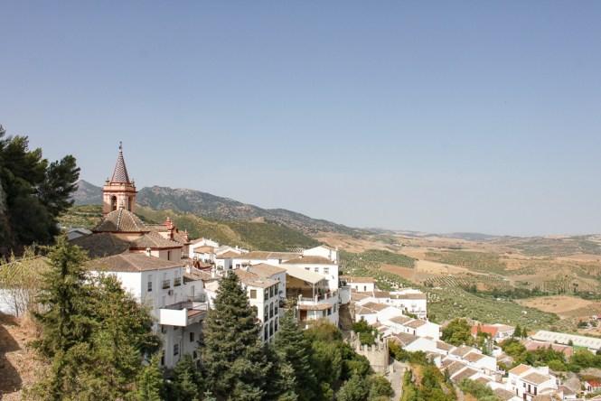 Zahara de la Sierra Villages Blancs Andalousie