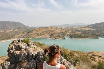 Donjon Zahara de la Sierra Villages Blancs Andalousie