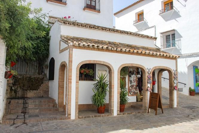 boutiques de Zahara de la Sierra Andalousie espagne