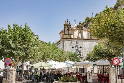 Place principale de Grazalema Blancs Andalousie
