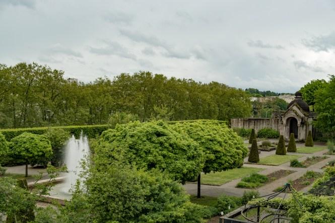 jardins de l'Évêché visiter limoges
