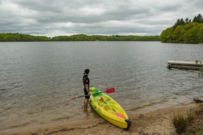 lac de saint pardoux canoe