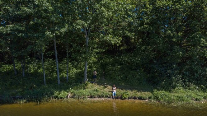 Activités berry drone Aquatiques Lac de Sidailles