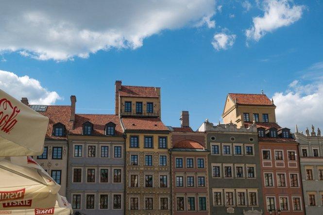 Visiter Varsovie Rynek Starego Miasta