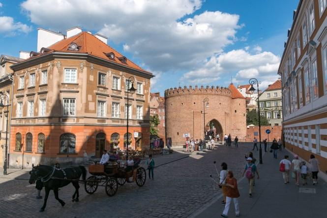 Visiter Varsovie BAR A LAIT