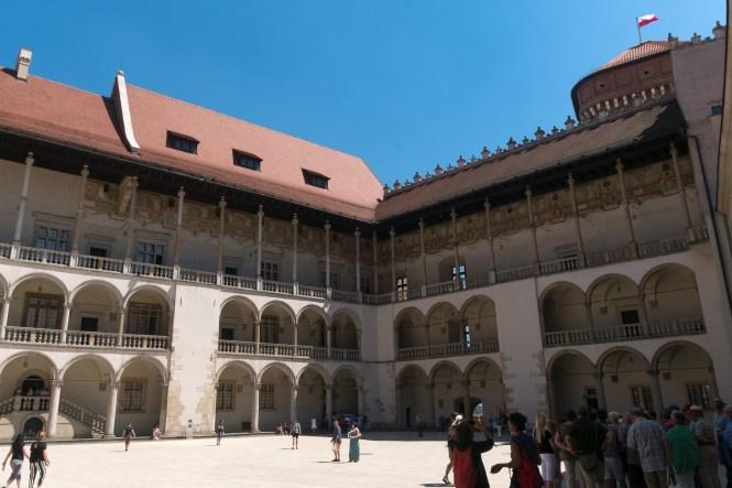 visiter-cracovie-château-du-Wawel-intérieur
