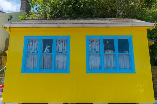 port de Rozel maison jaune week-end à jersey