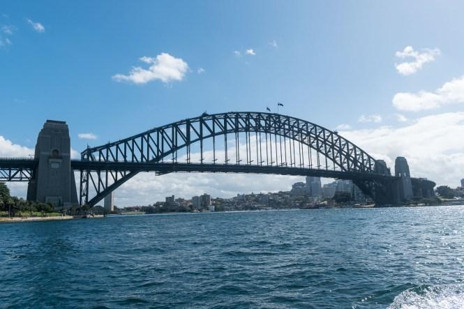 pont de Sydney Harbour bridge vue mer