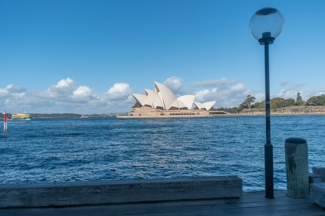 L'Opera House Le quartier The Rocks Sydney