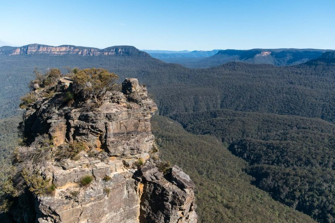 roche-Three-Sisters-Visiter-les-Blue-Mountains