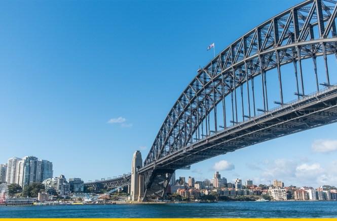 pont de Sydney Harbour bridge bas