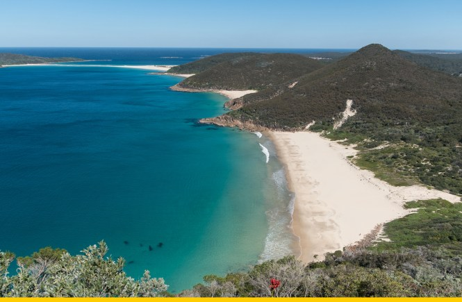 Tomaree national park Port Stephens