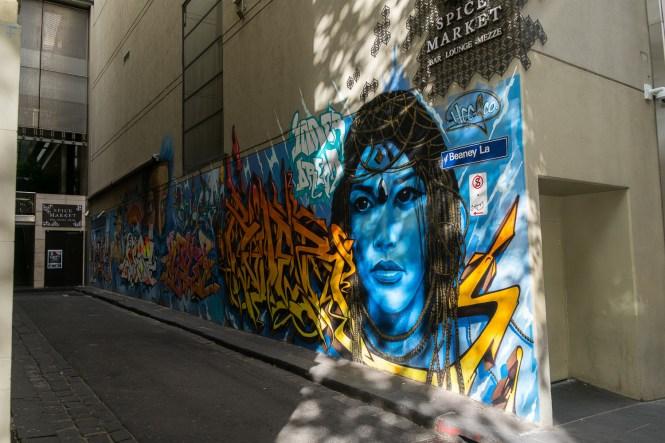 BEANEY LAN melbourne street art