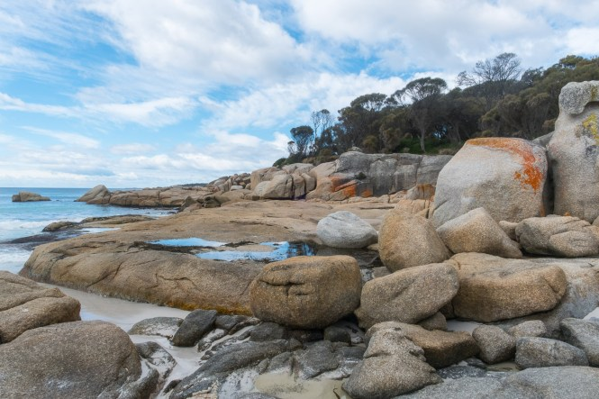 eanneret Beachbay of Fires en tasmanie itinéraire de 2 semaines