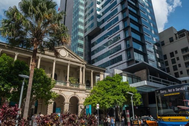 Post Office Sq visiter Brisbane