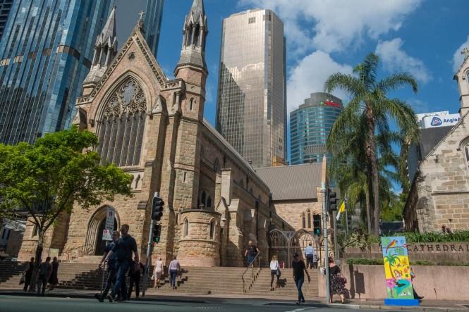 St Stephen's Cathedral visiter brisbane