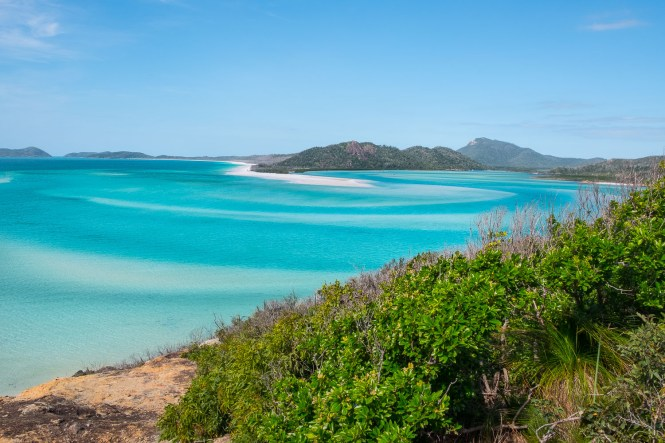 HILL INLET LOOKOUT whitsundays islands