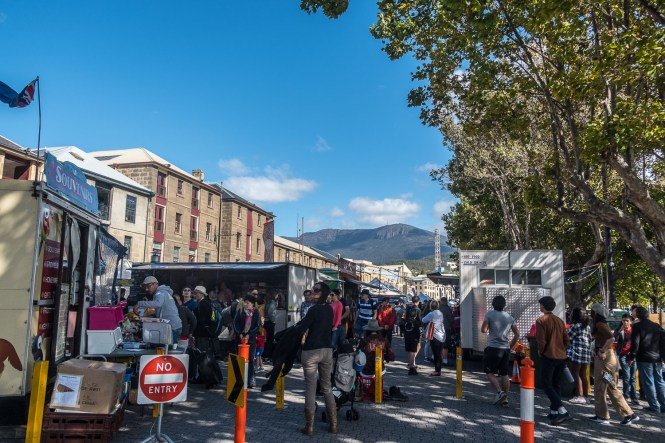 Salamanca Market ROAD TRIP en tasmanie itineraire 2 semaines