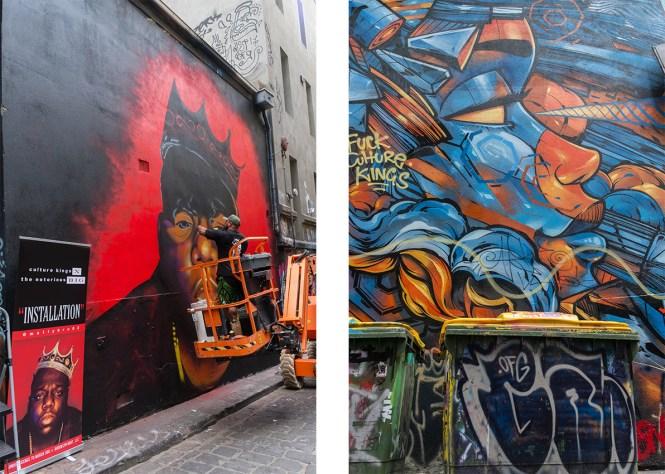 HOSIER MELBOURNE STREET ART