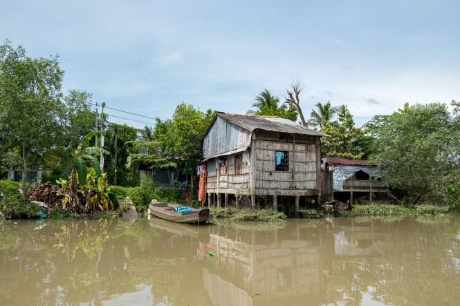 maison Itinéraire au Vietnam Delta du Mekong
