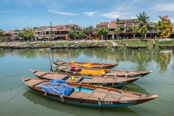 bateau Itinéraire au Vietnam Hoi an
