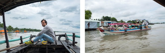 bateau Itinéraire au Vietnam Delta du Mekong